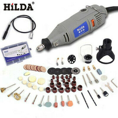 [NEW] HILDA 220V 150W with 91pcs Accessories Electric Rotary Tool Variable Speed