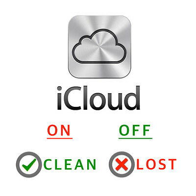 SUPER FAST INSTANT iCLOUD ON/OFF CLEAN/LOST CHECK iPHONE, iPAD any APPLE DEVICES
