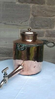 Antique copper water urn /kettle