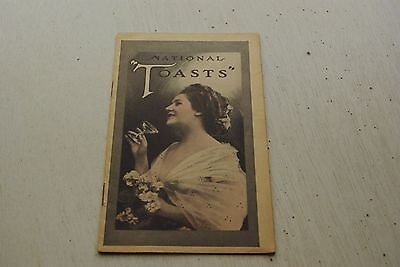 Vintage 1920's International Tailoring Co of New York Toasts Advertising Booklet