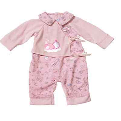 New pink jumpsuits clothes Wearfor 43cm Baby Born zapf (only sell clothes )