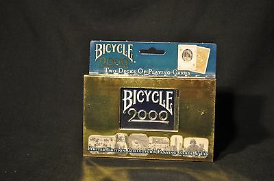 2000 Bicycle Millennium Limited Edition Collector's Playing Cards & Tin