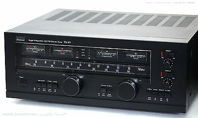 SANSUI TU-X1 High-End Super Integrated AM/FM Stereo Tuner! Gewartet+1J.Garantie!
