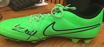 Hand Signed Anthony Martial Football Boot.