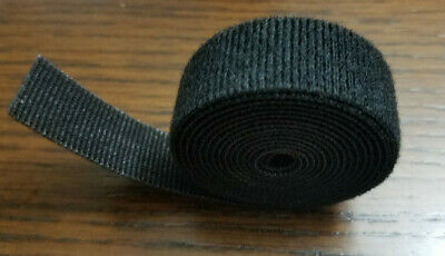 "VELCRO® Brand Reusable ONE-WRAP® Strap Double Sided 3/4"" W X 5ft L  Black"