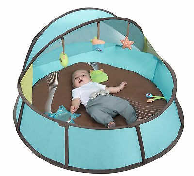 Travel Cot Portable Playpen UV Tent Canopy Toy Mosquito Net Removable Mattress