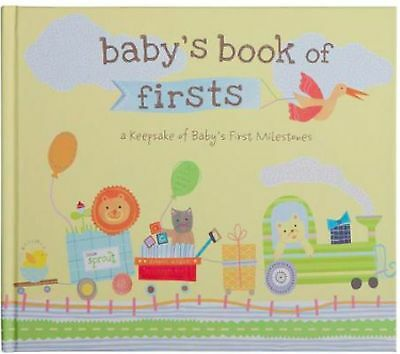 Babys Book of Firsts; a Keepsake of Babys First Milestones - Baby Memory Book