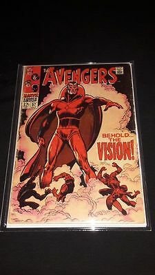 Avengers #57 - Marvel Comics - October 1968 - 1st Silver Age Vision Appearance