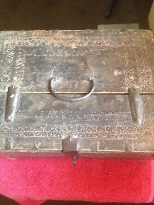Antique Indian Dowry Box 18th Century