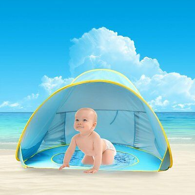 Baby Beach Tent Pool Pop up Beach Tent Umbrella Pool Canopy  Portable Shade Fun