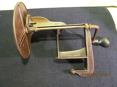 Antique Table Cabbage Shredder