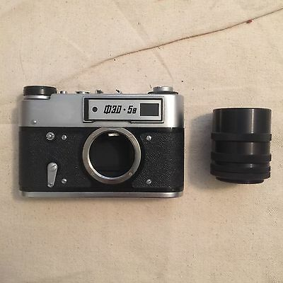 FED 5B 35mm Rangefinder Film Camera - Body Only - SHIPPING FROM USA