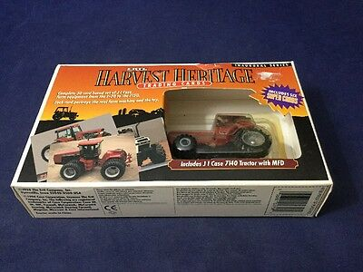 J I Case Trading Cards F-20 To 7150 With 7140 Tractor 1/64 Scale