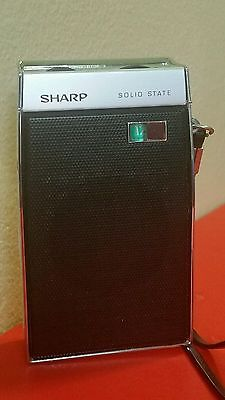 Vintage  SHARP BP 110 6 Transistor made in Japan 60s