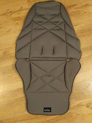 Mamas and Papas Urbo seat fabric cover in slate grey ❤️ FREE UK POST VGC