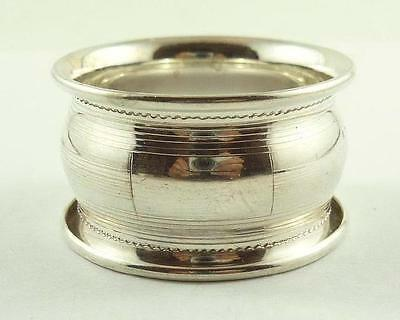 Lovely Vintage American Sterling Silver Napkin Ring c. 1930-40's