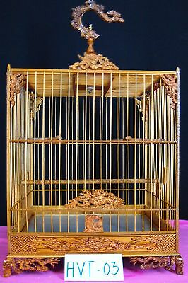 Asian Bamboo Bird Cage HVT-03