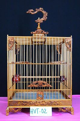 Asian Bamboo Bird Cage HVT-02