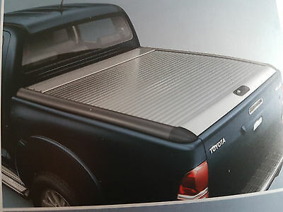 Toyota Hilux Double Cab Laderaumabdeckung Alu Roll Cover