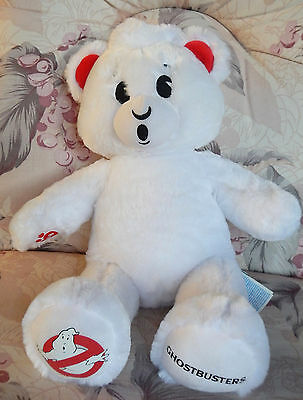 "Build A Bear Babw  Ghostbusters 17"" Stuffed Plush Toy Animal"