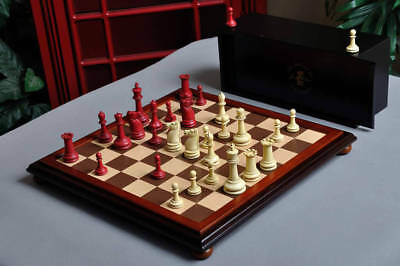 The Classical Staunton Series Chess Set, Box, & Board Combination