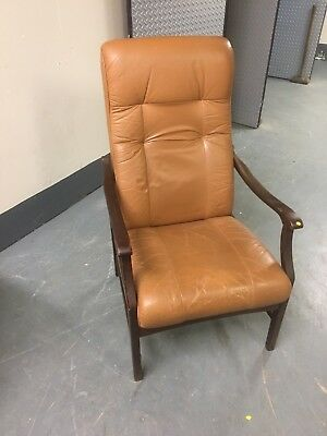 20th century Leather Armchair