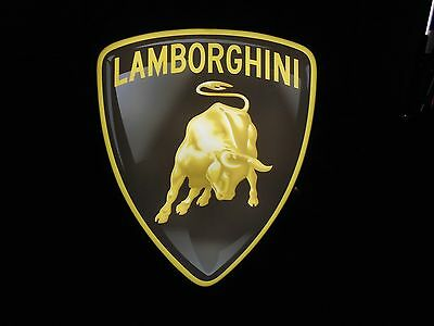 Lamborghini Lighted Sign