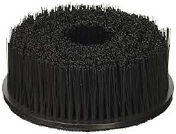 "Carpet Upholstery Seat 5"" Round Spinner Brush W/ Hook-N-Loop Backing Attachment"