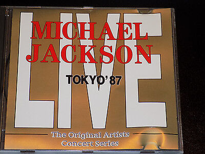 Michael Jackson ‎– Tokyo '87 Bad Tour Live in Japan Very Rare Import CD