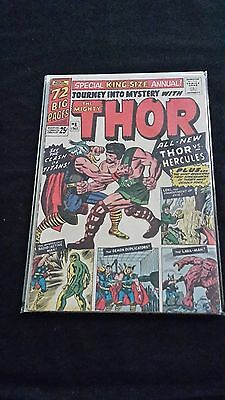 Thor Annual #1 - Marvel Comics - 1965 - 1st Hercules Appearance