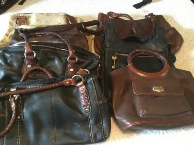 USED BULK ReHab Resale Wholesale Purse Lot Fossil Lot Of 7