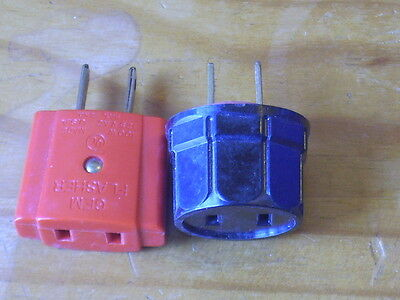 Lot Of 2 Vintage Christmas Tree Light Flasher Blinker