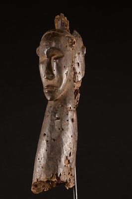 Old Fang Double Head Figure Gabon Africa ........Fest-222