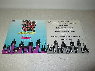 STREET JAMS Hip-Hop From The Top & Electric Funk 3 & 4 PROMO ONLY Poster RARE