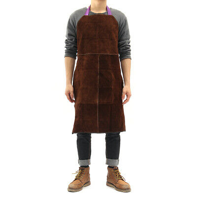 [NEW] 1Color Only Welding Equipment Welder Heat Insulation Protection Apron Cow