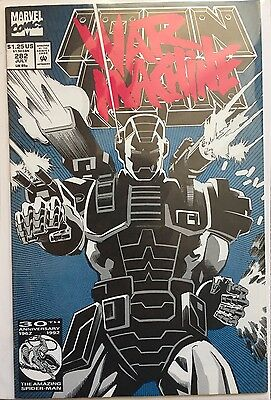 IRON MAN # 282 , MARVEL COMICS 1st FULL WAR MACHINE  APPEARANCE VFN