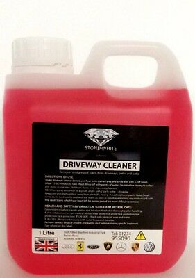 Driveway Cleaner, 1lt [832] Remove Oil Stain From Concrete Block Paving