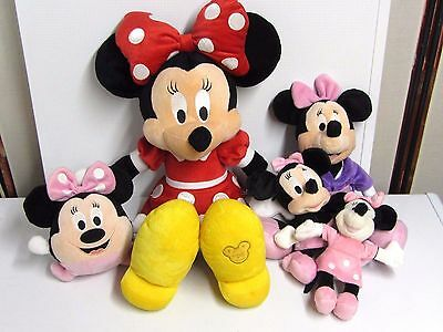 "Lot De "" Doudous "" Mickey"""
