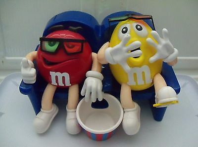 M&M Movie Theater Couple candy Dispenser