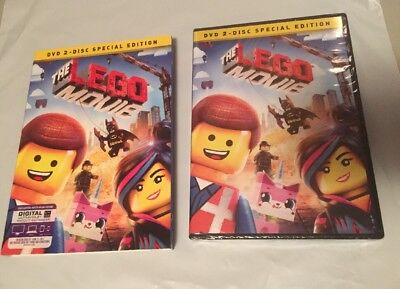 The LEGO Movie (DVD, 2-Disc Set, Special Edition) w/Slipcover**New**