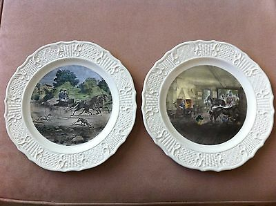 Currier And Ives Americana  Series Horse Plates