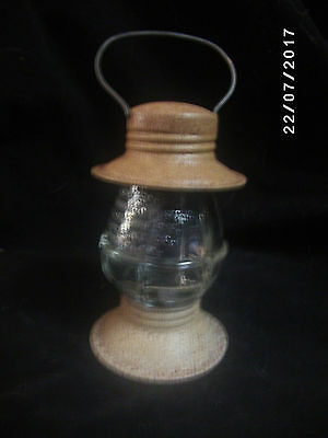 Vintage Jeannette Glass Co Lantern Candy Container