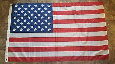 USA STARS STRIPES FLAG 3 x 5 BANNER INDOOR OUTDOOR LIGHT WEIGHT POLYESTER