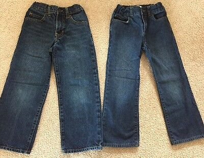2 Pair Boys Size 6 Jeans, Old Navy & Children's Place