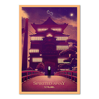 Spirited Away Poster - Bath House Exclusive Design - High Quality Prints