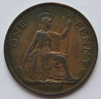 A British Large Penny 1900 To 1967.