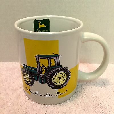 JOHN DEERE Coffee MUG Cup Tractor by Gibson 10 oz.