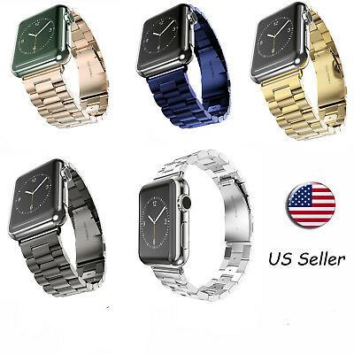 Stainless Steel Or Milanese Loop Strap Band for Apple Watch iWatch Series 3/2/1