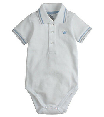 New With Tags EPK Baby Boy's Cotton Bodysuit Bodies / Polo Shirt @RRP $39.90@1M@