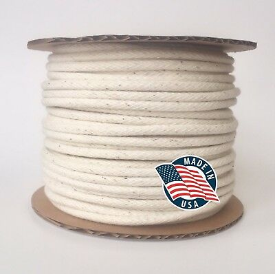"""Cotton Piping (Cotton Welt Cord) 4/32"""" 5/32"""" 6/32"""" 8/32"""" MADE IN USA"""